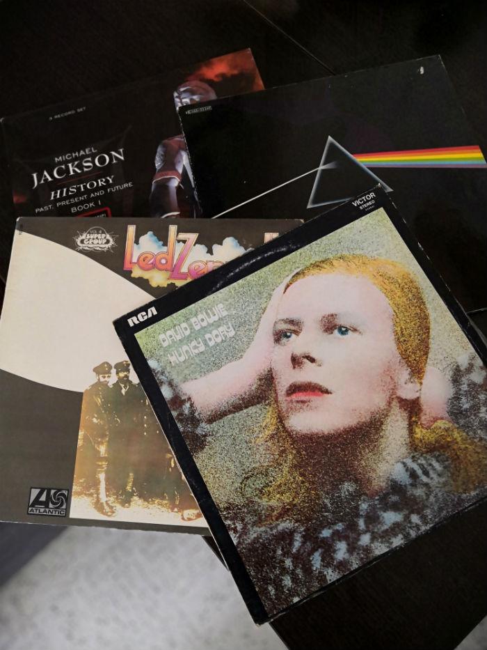 album Hunky Dory,  David Bowie