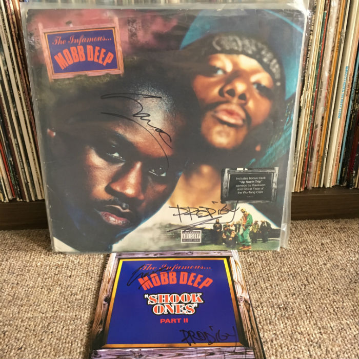 mobb deep record signed