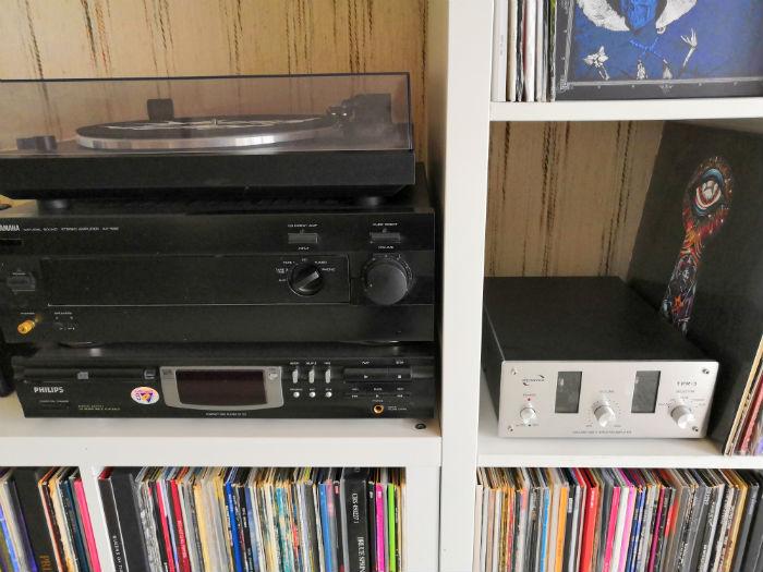 installation platine vinyle