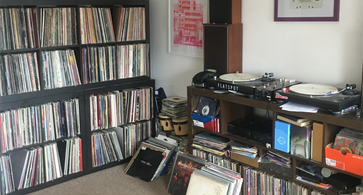 James Record Collector From Bristol Interview Record