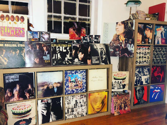 record collection rolling stones