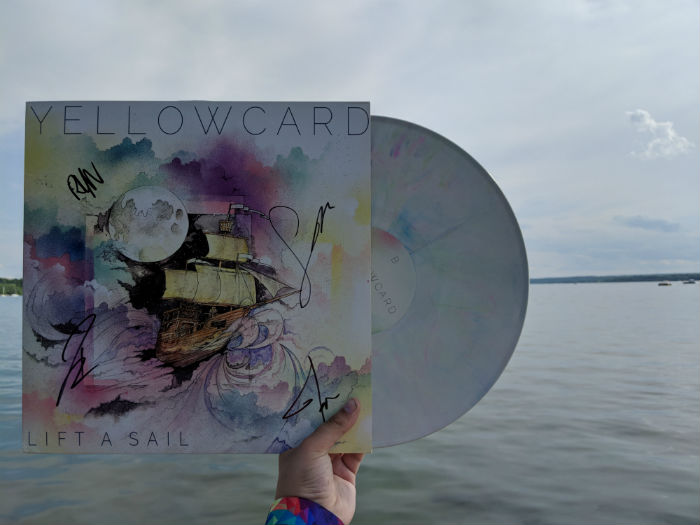 yellowcard, lift a sail, album