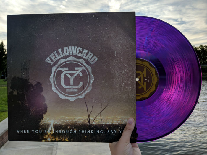 Yellowcard, When You Are Through Thinking, Say Yes, album
