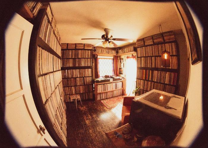collection disque vinyle