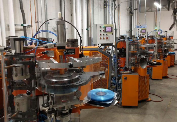 Furnace Record Pressing plant
