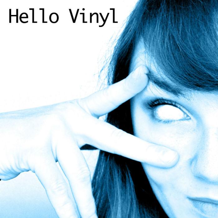 portrait hello vinyl