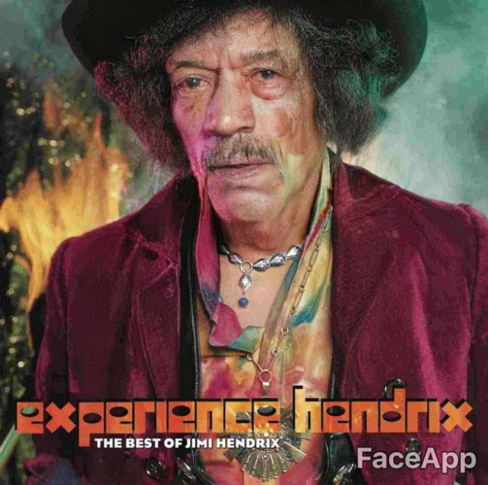 If The Album Covers Could Have Grown Old Faceapp Challenge