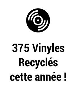 vinyles recyclés