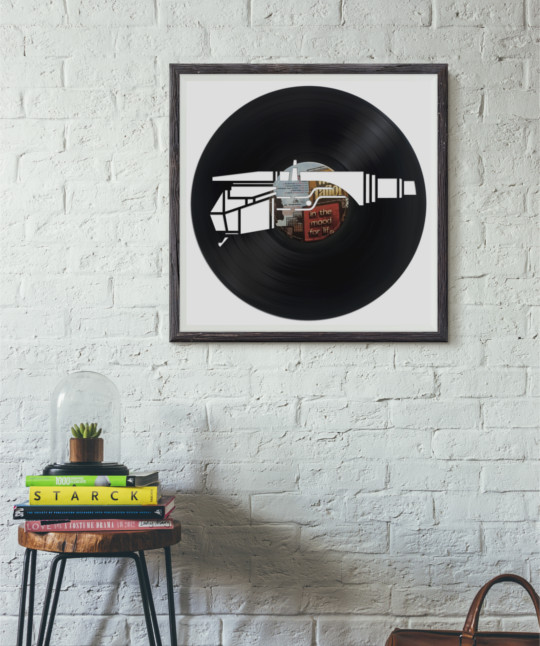 framed record